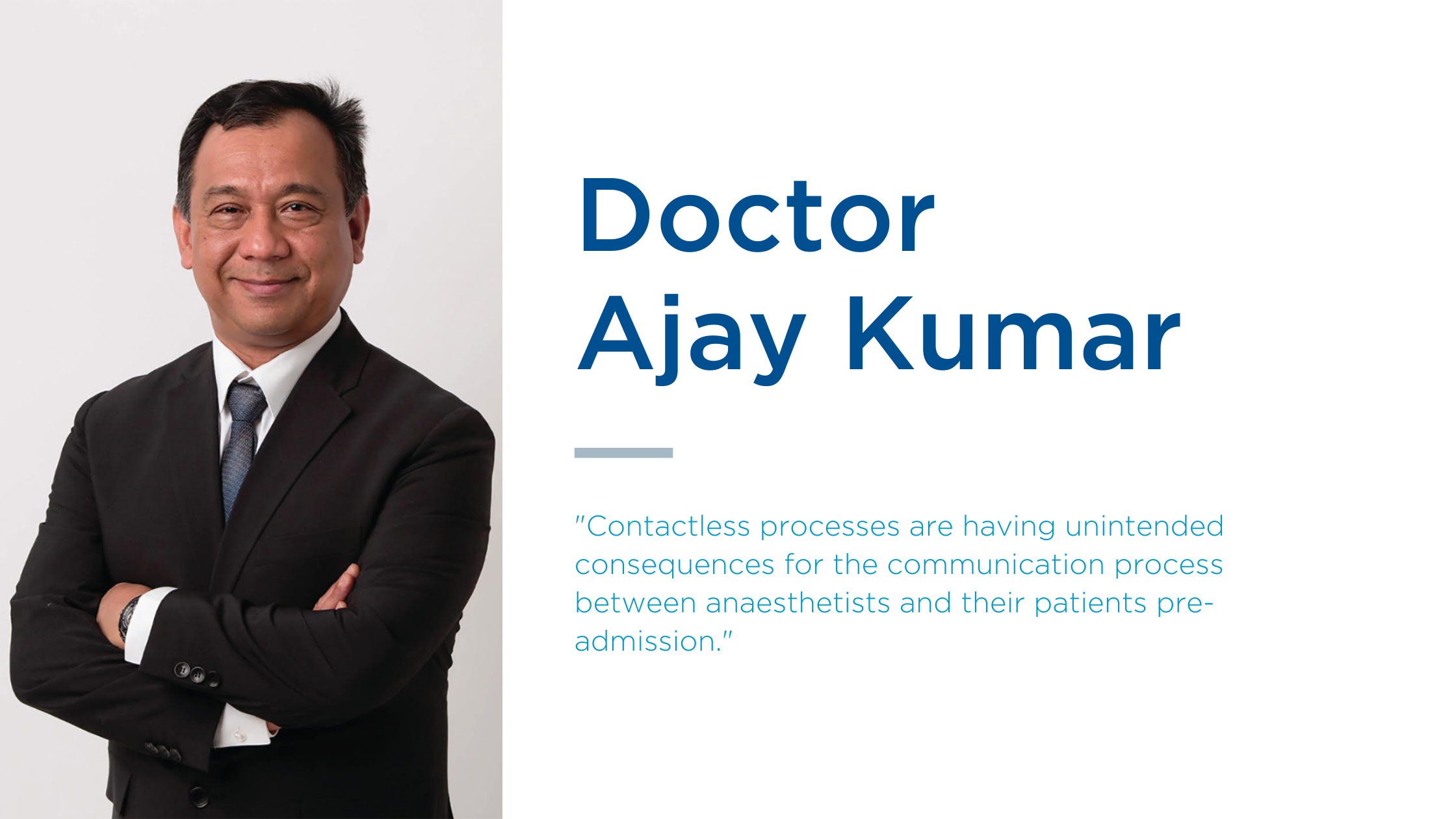 Dr Ajay Kumar discusses informed patient consent